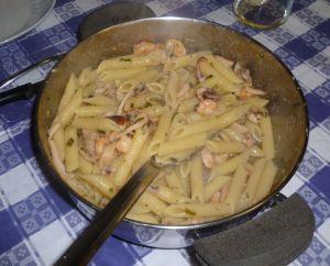 mezcla per pasta con marisco